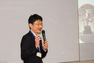 柴田所長による乳幼児期の支援の講義