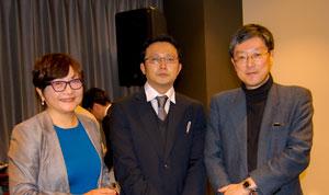 熊崎博一先生と横須賀市療育相談センター所長の広瀬先生と