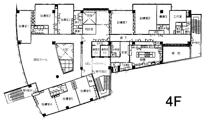 4F フロアーマップ