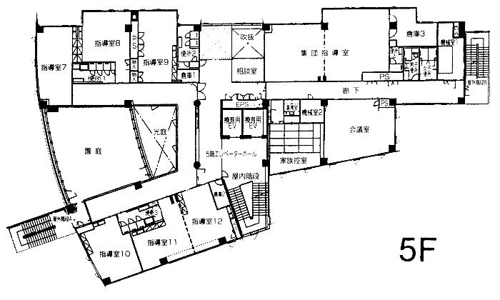 5F フロアーマップ